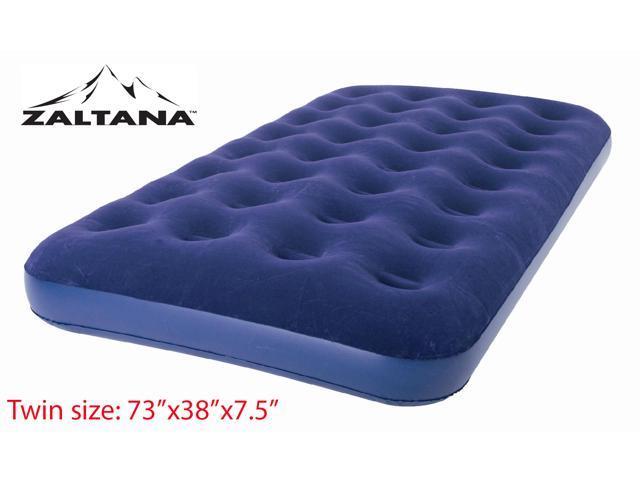 Zaltana Flocked Twin Size Air Mattress