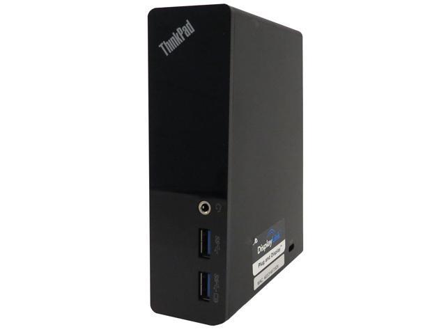 Lenovo Thinkpad USB 3 0 DU9019D1 Dock - 5 x USB 3 0, 2 x DVI