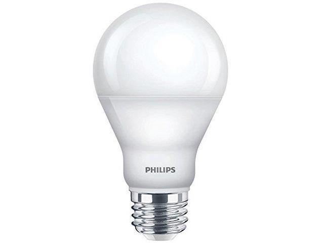 Led Lampen Philips : Led lamp 450 lm 8.0w a shape 5000k philips 455600 newegg