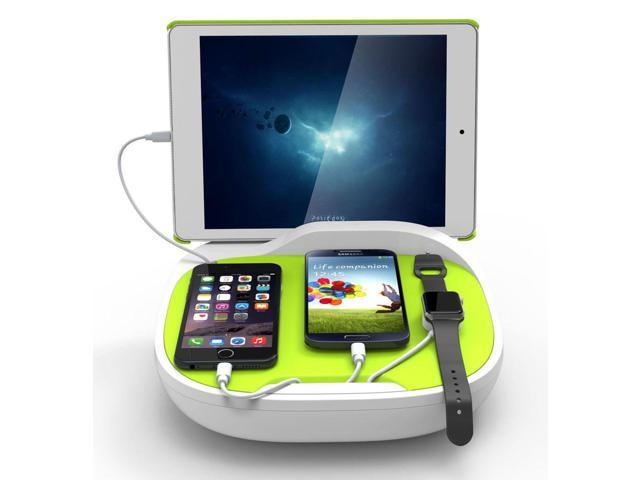 Multi Charging Cable Portable 3 in 1 Seal of Approval Throw Pillow USB Power Cords for Cell Phone Tablets and More Devices Charging
