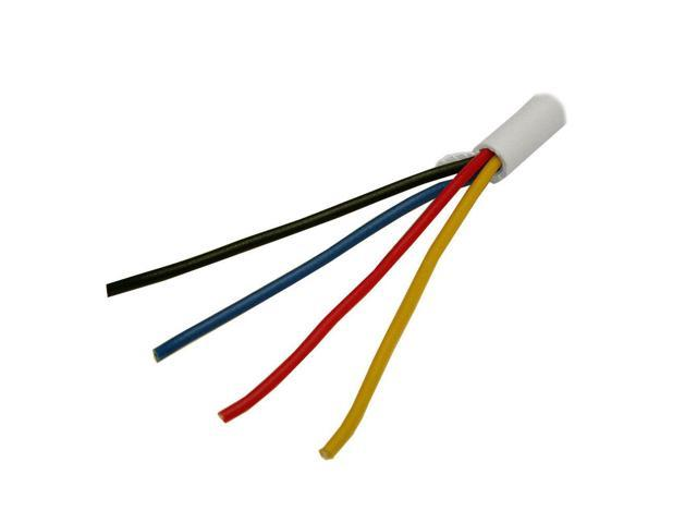 500FT FIRE / BURGLAR STATION ALARM WIRE 22/4 SOLID SECURITY CABLE 22 ...