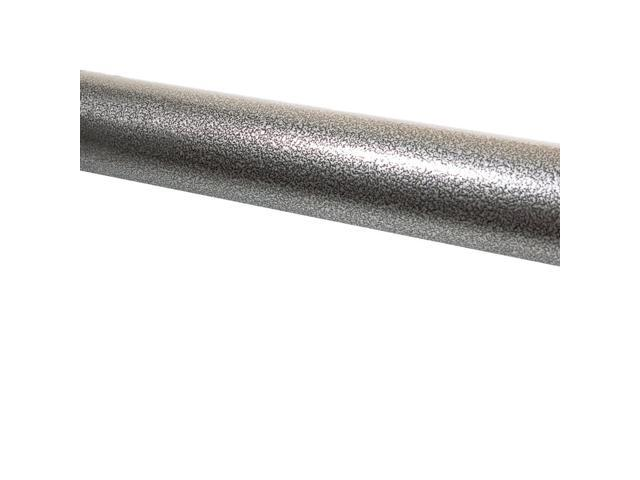 """1.9/"""" Round x 3 ft White Aluminum Handrail ADA Compliant Kit with Wall Returns"""