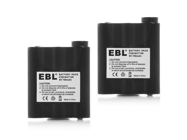NEW Two-Way 2-Way Radio Battery Pack for Midland AVP-7 BATT5R BATT-5R 400+SOLD