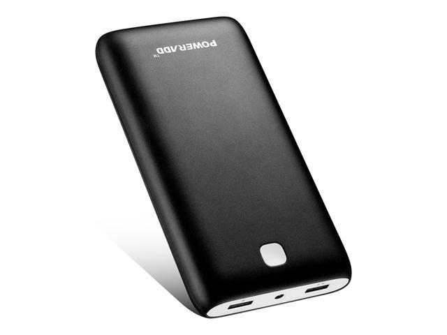 Poweradd Pilot X7 20000mAh Power Bank Portable Charger 3 4A Dual USB Ports  External Battery for iPhone, iPad, Galaxy Cellphone With LED Light -