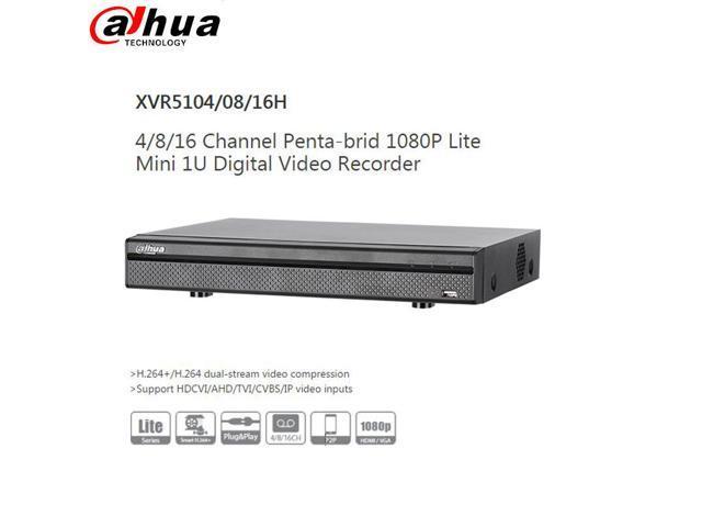 Dahua OEM XVR5104HS-X 4CH Hybrid DVR 5in1 H.265 P2P 1080p Digital Video Recorder