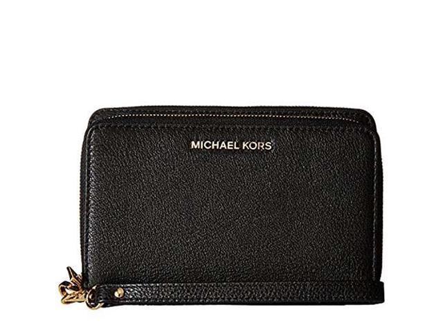 MICHAEL Michael Kors Adele Large Flat Multi-Function Phone Case Small Pebble  18K 221f6e8748550