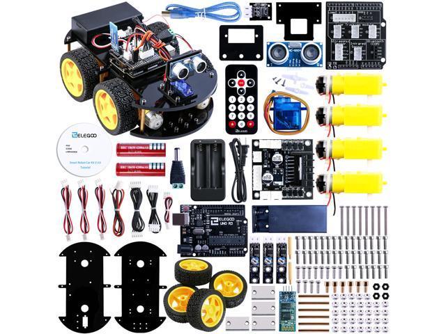 Elegoo uno project upgraded smart robot car kit with uno r3 line elegoo uno project upgraded smart robot car kit with uno r3 line tracking module malvernweather Images