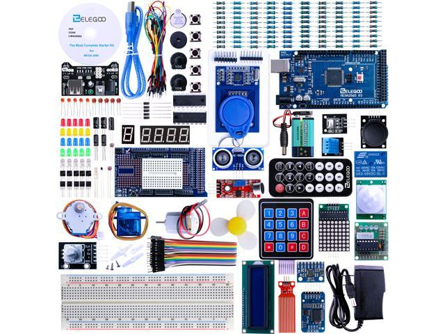 Fantastic Elegoo Mega 2560 Project The Most Complete Ultimate Starter Kit W Tutorial Mega 2560 Controller Board Lcd1602 Servo Stepper Motor For Arduino Machost Co Dining Chair Design Ideas Machostcouk