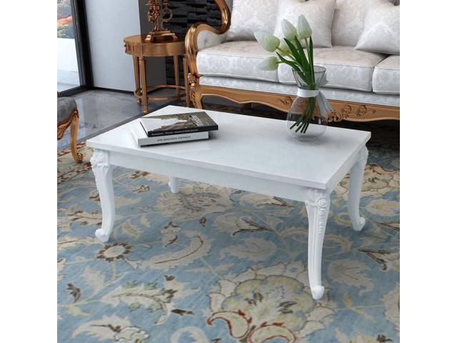 vidaXL High Gloss Coffee Side End Table Living Room ...