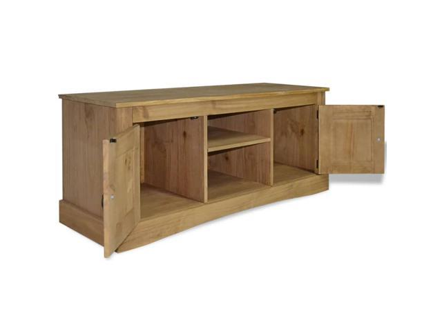 vidaXL TV Cabinet Mexican Pine Corona Range Media Center Stand Unit Sideboard