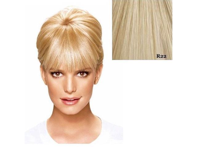 Hairdo Bangs Jessica Simpson Ken Paves Hair Extensions R22 Swedish