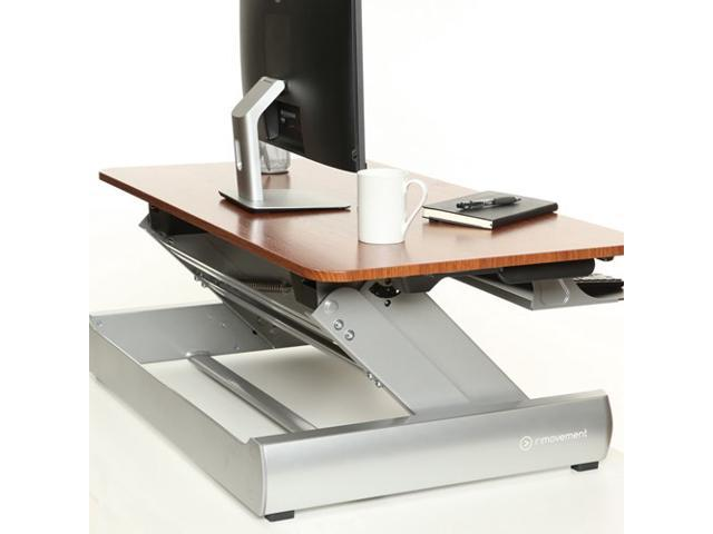 Standing Desk   DT 2   Sit To Stand Desk Converter Extra Wide 41 Inch