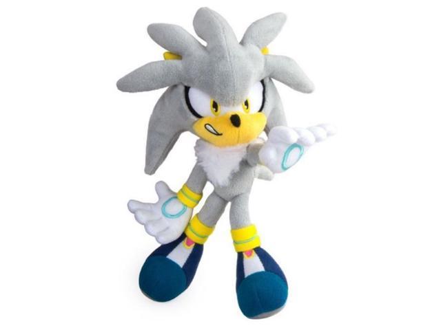 Plush Toy Sonic The Hedgehog Silver Sonic 8 Inch Newegg Com