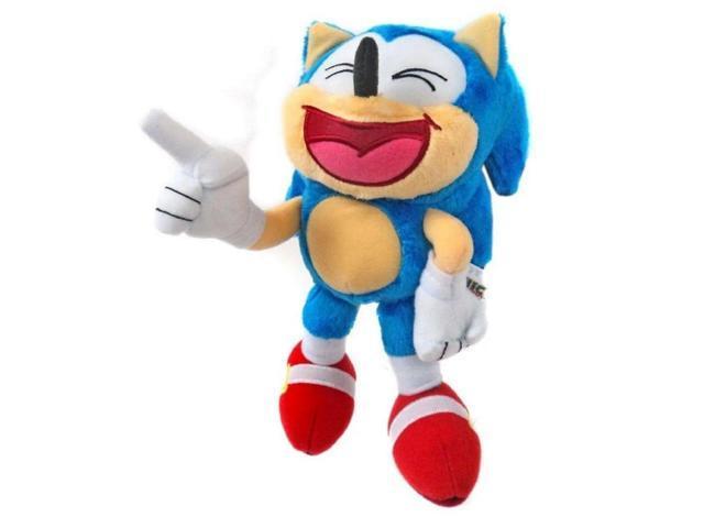 Plush Toy Sonic The Hedgehog Classic Sonic 8 Inch Laughing Newegg Com