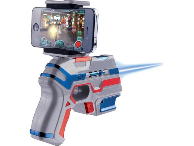 Augmented Reality Toy Gun - Shooting Game - Arliens - iOS and Android - Free App Download - 13 Tricky Levels - Epic Comi