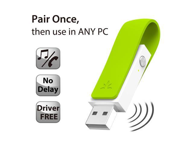 Avantree LOW LATENCY USB AUDIO Transmitter Bluetooth Adapter for PC, Apple Mac. Driver free