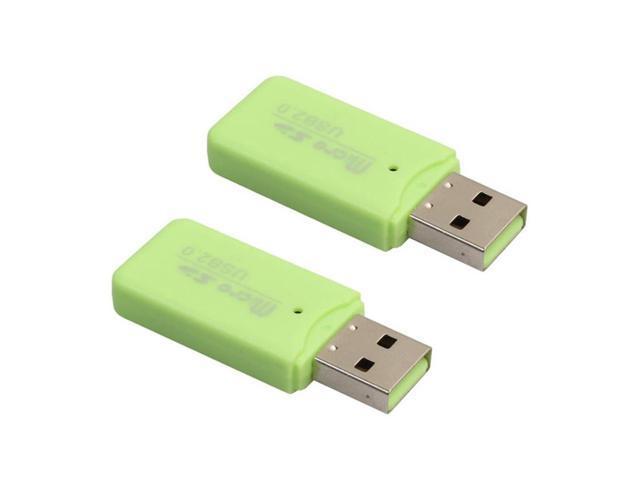 2018 High Speed Mini USB 2.0 Micro SD TF T-Flash Memory Card Reader Adapter
