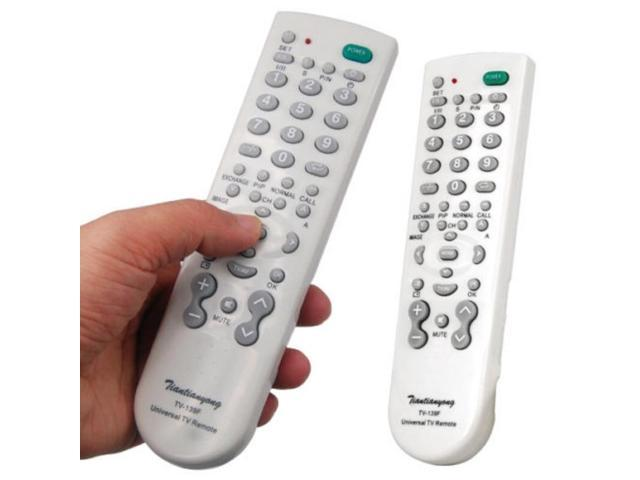 Mayitr 1pc New Universal Remote Control White High Quality One For All  Remote Controller For Television - Newegg com