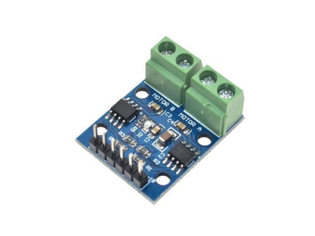 L9110S DC Stepper Motor-Driver Board H-bridge Stepper Motor Dual DC motor  module for Driver Controller Board L9110S module - Newegg com