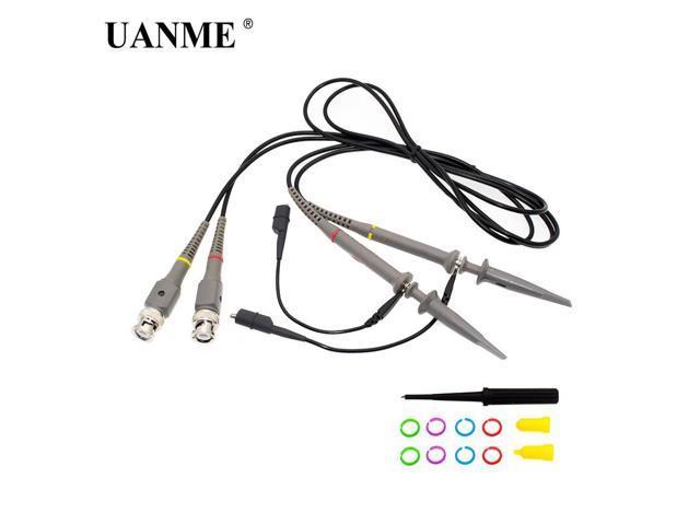 2pcs tp6100 oscilloscope probe precision scope clip probe dc