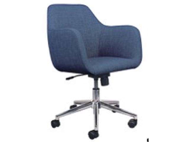 Sensational Ofm Essentials Collection Upholstered Home Office Desk Chair In Blue Ess 2085 Blu Newegg Com Download Free Architecture Designs Intelgarnamadebymaigaardcom