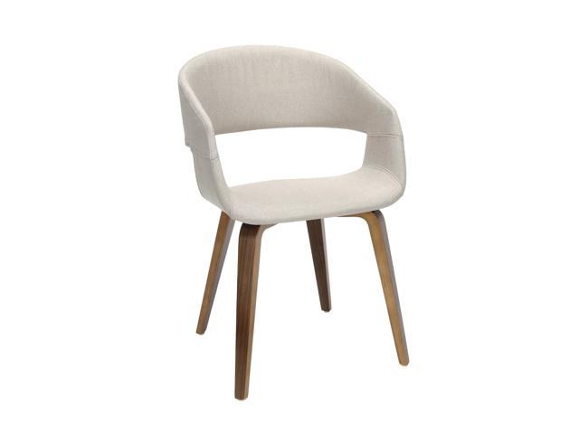 Excellent Ofm 161 Collection Mid Century Modern 2 Pack Fabric Accent Chair Dining Chair In Beige 161 Facc Bge 2 Cjindustries Chair Design For Home Cjindustriesco