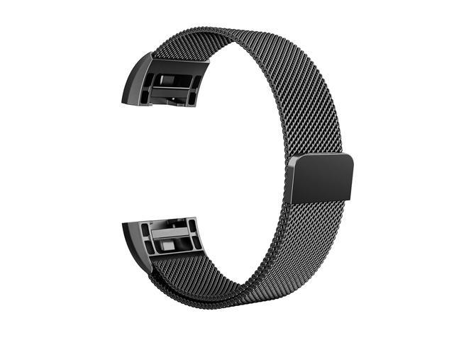 Fitbit Charge 2 Bands Metal Replacement Band black 6 1