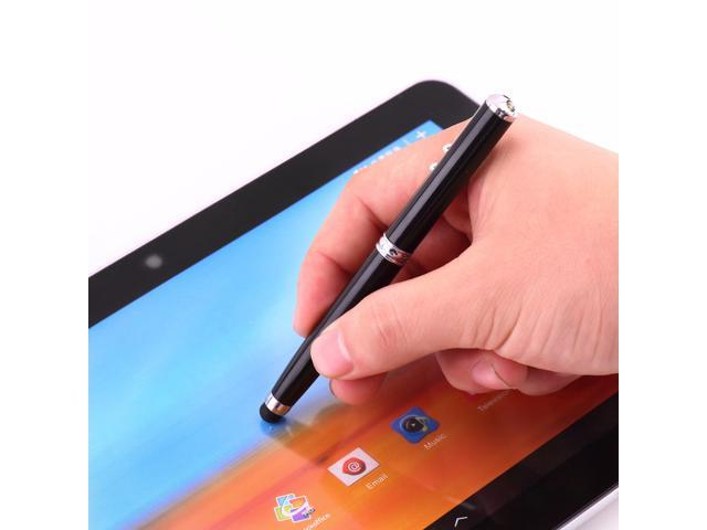 Capacitive Stylus Pen Laser Pointer Torch Touch Screen Ballpoint For Tablet