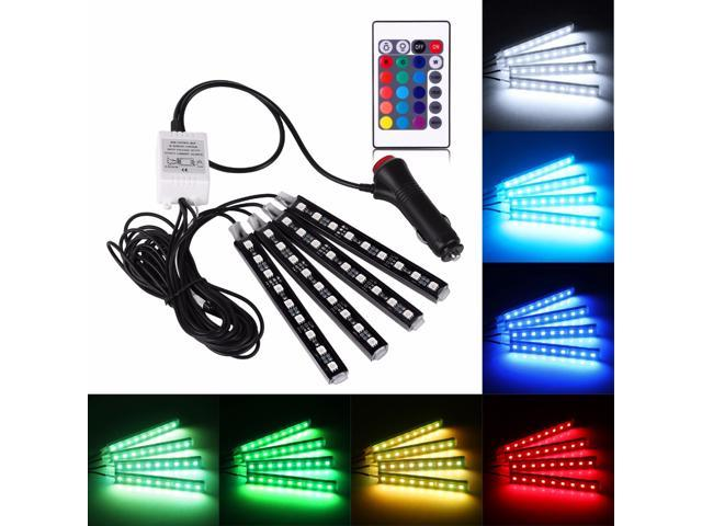 1x 2*1.5*0.8cm USB LED Light Colorful Lamp For Car Atmosphere Lamp Accessories