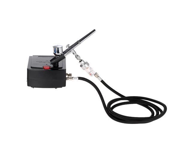 Pro Fine Air Brush Kit Pistol Trigger 0.3 Gravity Feed Hobby Hobbies Brushing HD
