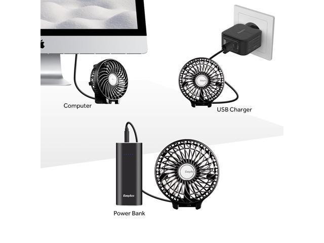 Happy Roam Convenient Convenient Fashion Bladeless Fan Racket Shape Fan Mini Portable Mute USB Fan Summer Cooling Electric Fan Fashion Color : Pink