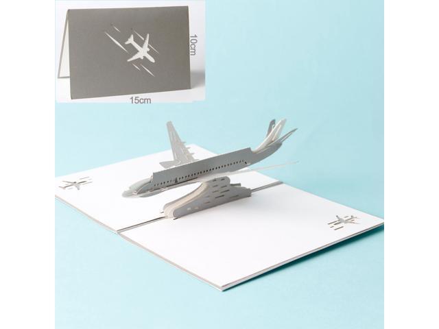 Greeting Cards Fighter Plane 3D Pop Up Card for Kids Handmade Postcard  Matching Envelope - Newegg com