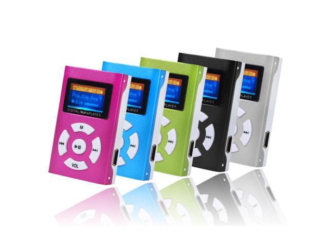 Portable Mini USB Digital MP3 Player LCD Screen Support 32GB Micro SD TF Cards /&