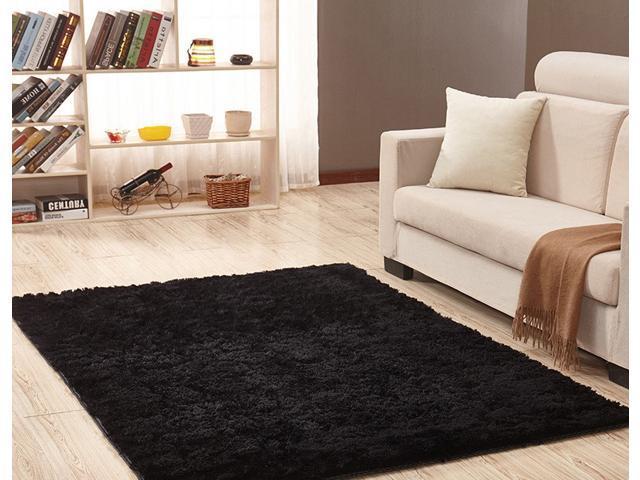 3.28 x 5.25 ft Carpet Living Room House Bedroom Carpet Anti-Skid Shaggy Rug  Floor Mat