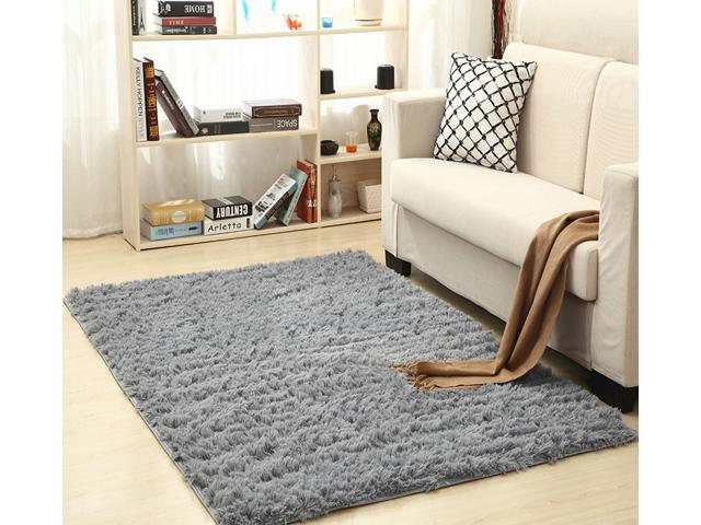 15.75 x 23.62 in Area Rugs Living Room Bedroom Carpet Anti-Skid Shaggy Rug  Floor Mat - Newegg.com