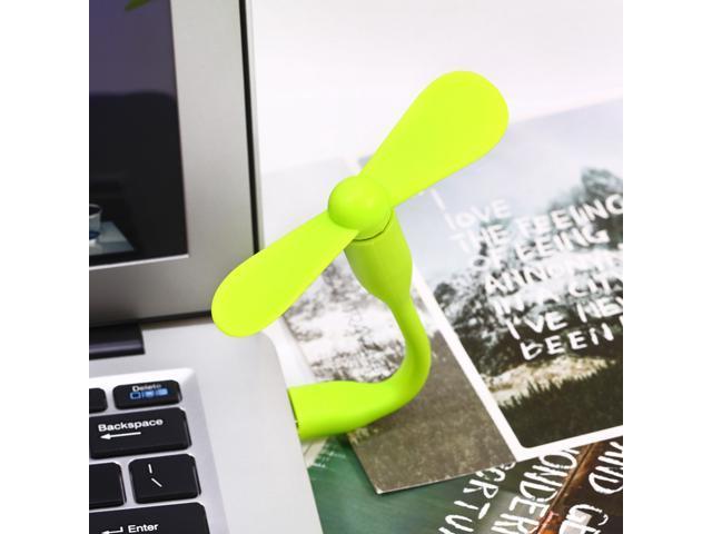 Portable Flexible USB Mini Cooling Fan Cooler For Laptop Desktop PC Computer PAB