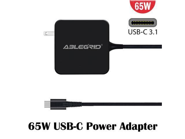 Genuine HP 65W USB-C TPN-CA06 AC Power Supply Adapter 925740-002 Spectre X2 X360