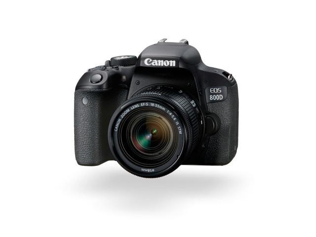 Canon EOS Rebel 800D/T7i DSLR Camera with 18-55 4-5.6 IS STM Lens International Model