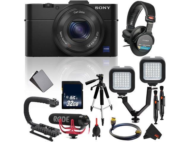 Sony Cyber-shot DSC-RX100 II Digital Camera International Version (No  Warranty) Essential Vlogging Kit - Newegg com