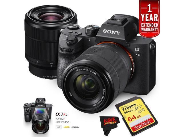 Sony Alpha a7 III Mirrorless Digital Camera with 28-70mm Lens International  Version (Starters Kit) - Newegg com