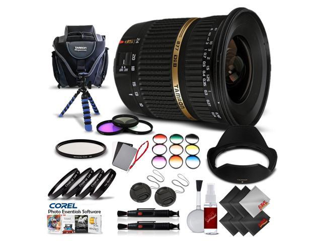 Tamron SP AF 10-24mm f / 3 5-4 5 DI II Lens For Canon International Version  (No Warranty) Pro Kit - Newegg com