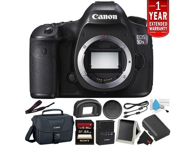 f9a45fe2d448 Canon EOS 5DS R Digital SLR Camera 0582C002 (Body Only) - Camera Bundle  with 32GB Memory Card + More (Intl Model) - Newegg.com