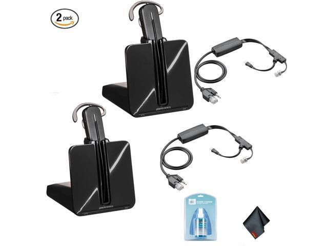 058f46a5b8c Plantronics CS540 Wireless Office Headset System (2 Pack) - Bundle with 2x  Plantronics APP