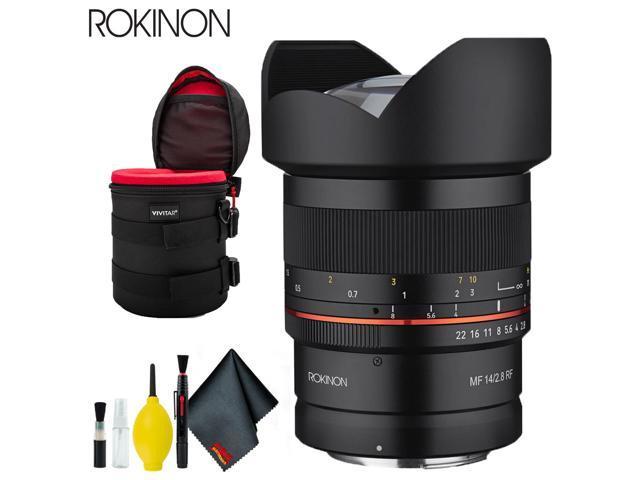 Rokinon 14mm f/2 8 Lens for Canon RF Standard Bundle - Newegg com