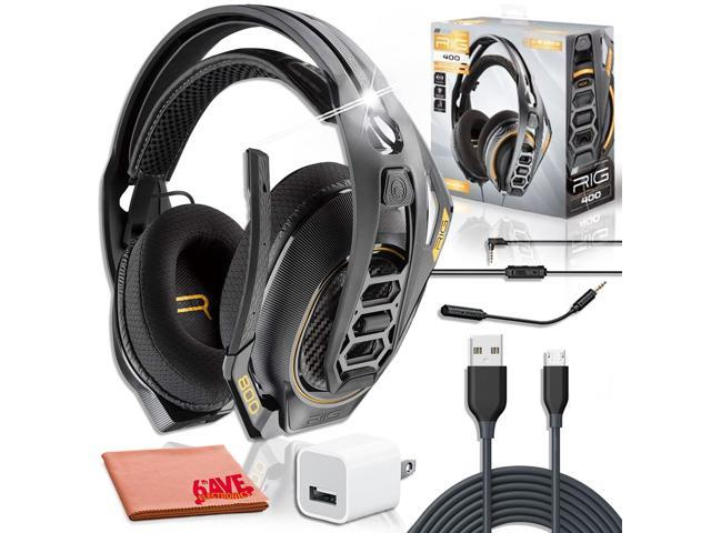Plantronics Rig 400 Pro Gaming Headset Charger Bundle Newegg Com