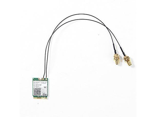 2PCS IPEX MHF4 Laptop NGFF 7260 7265 Card Wireless Wifi Internal Antenna Useful.