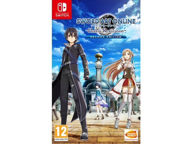 Sword Art Online Hollow Realization Deluxe Edition Nintendo Switch Game -  Newegg com