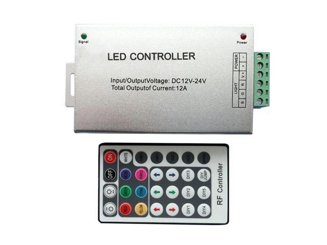THZY RF Wireless Remote 28 Keys 12-24V 3Channels LED Controller for RGB LED  Strips UK1 - Newegg com