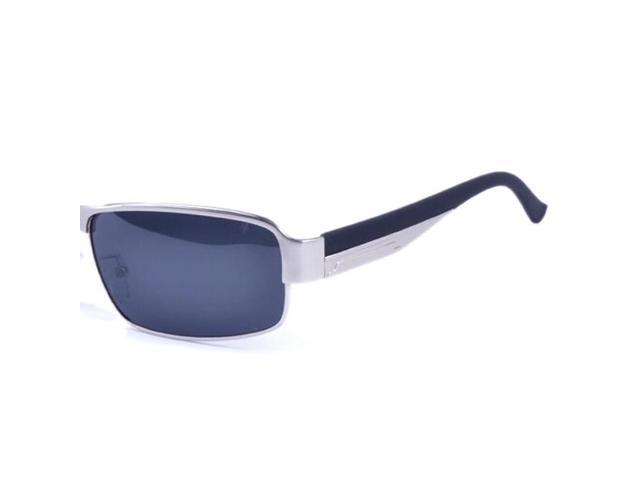 5f6f4a37f0b THZY Fashion Driving Glasses Polarized Men Sunglasses Outdoor Sports  Goggles Eyewear-Silver