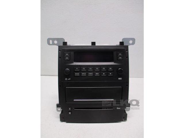 05-07 Cadillac STS AM FM 6CD Radio Receiver 15905317 OEM LKQ - Newegg com